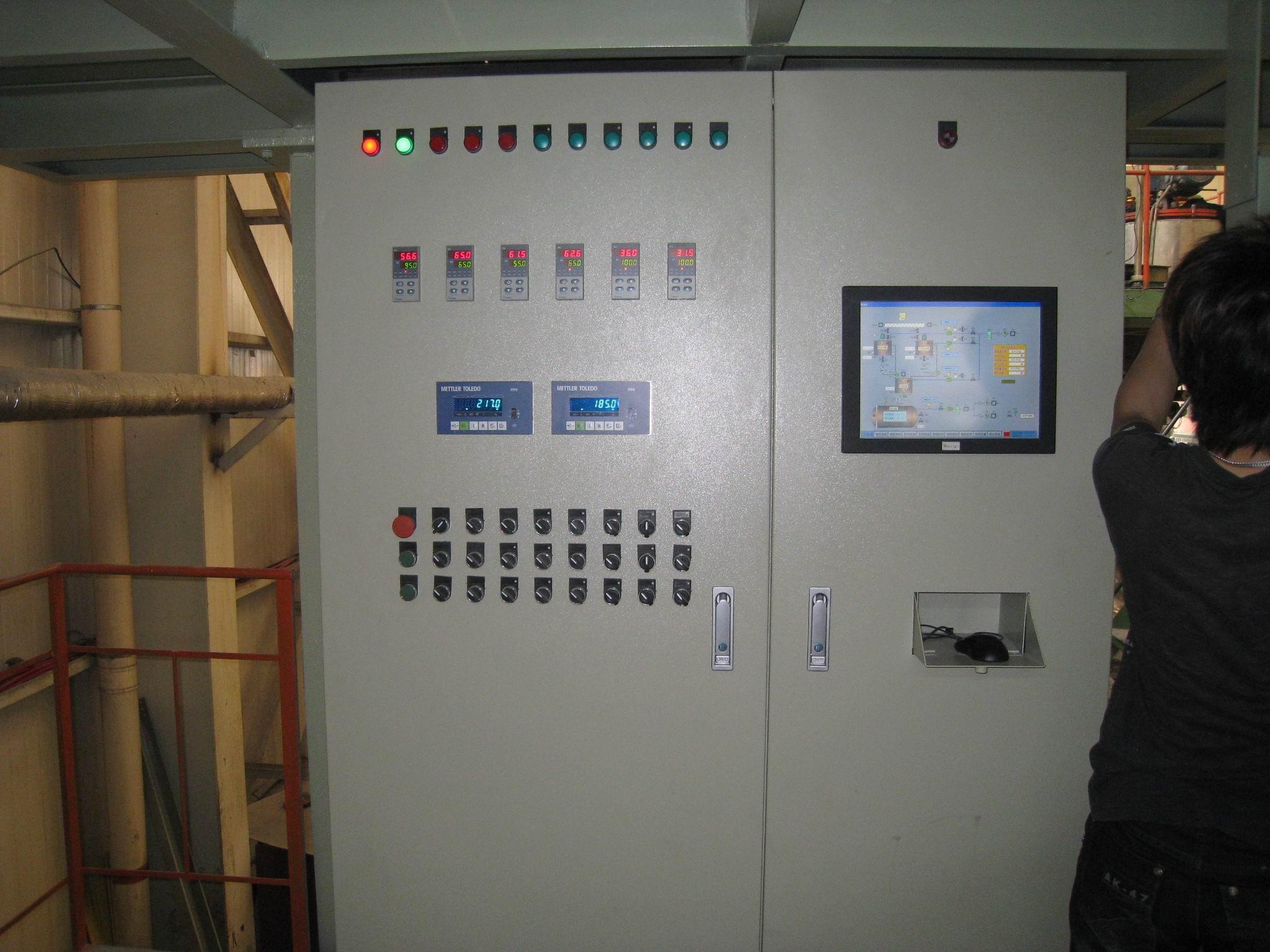 Vacuum Resin pouring machine