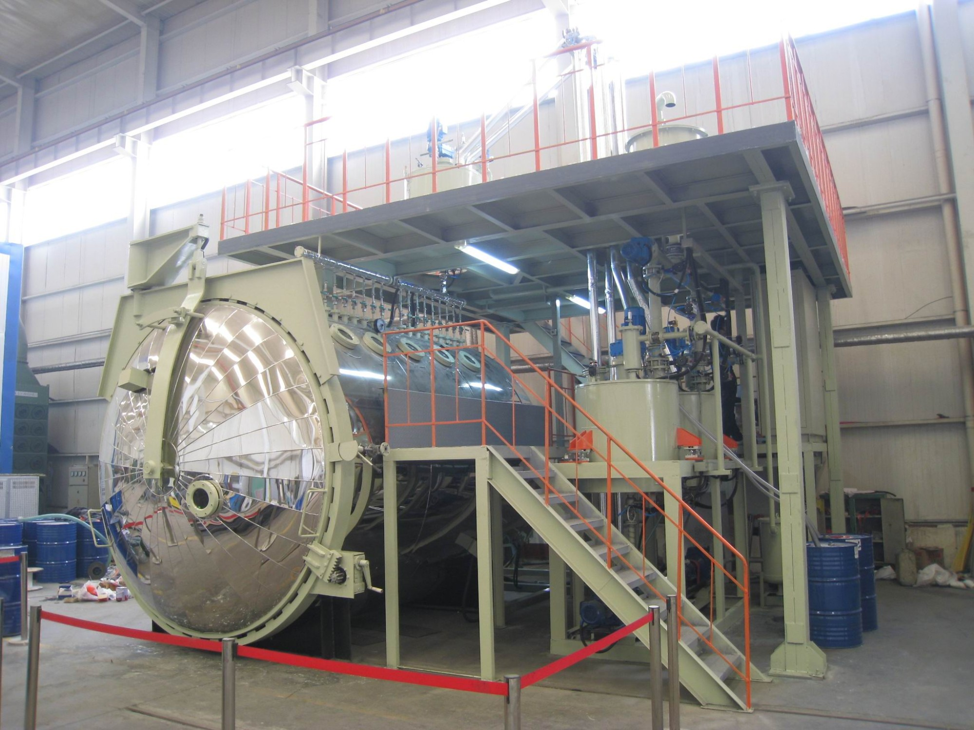 Full Automatic Dynamic Mixing Vacuum Pressure Casting Equipment