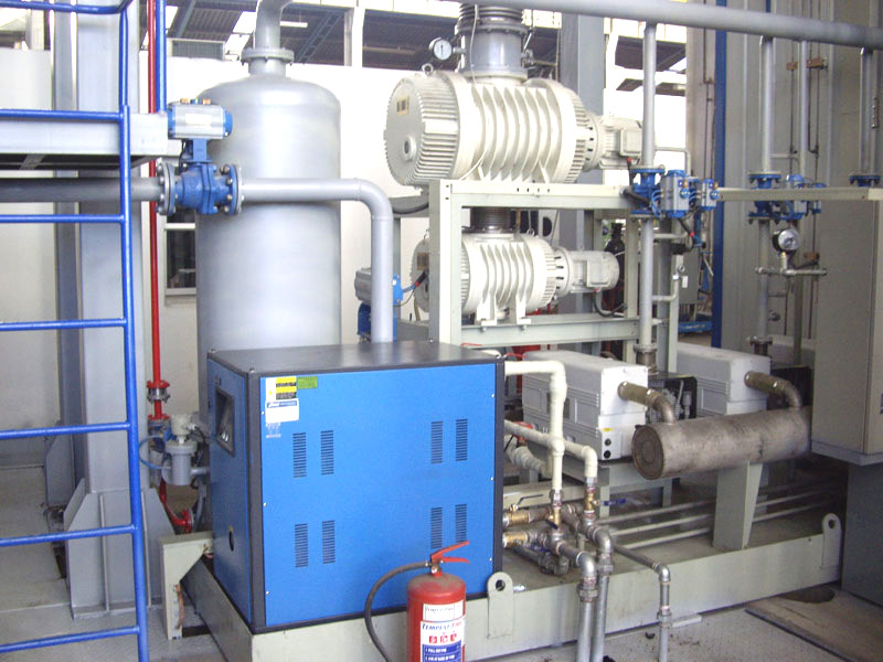 Variable Pressure Vacuum Drying And Oiling Equipment