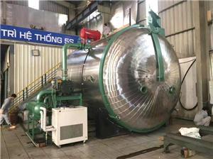 Máquina de secagem a vácuo de pressão variável para transformador