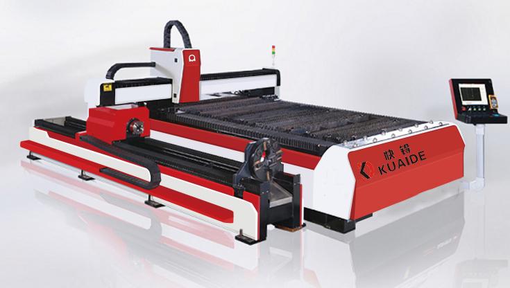 Tube-plate integrated fiber laser cutting machine