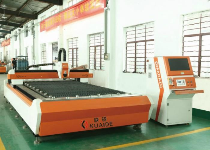 Single Platform Fiber Laser Metal Cutting Machine