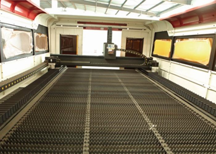 Fully Enclosed Exchange Platform Fiber Laser Metal Cutting Machine
