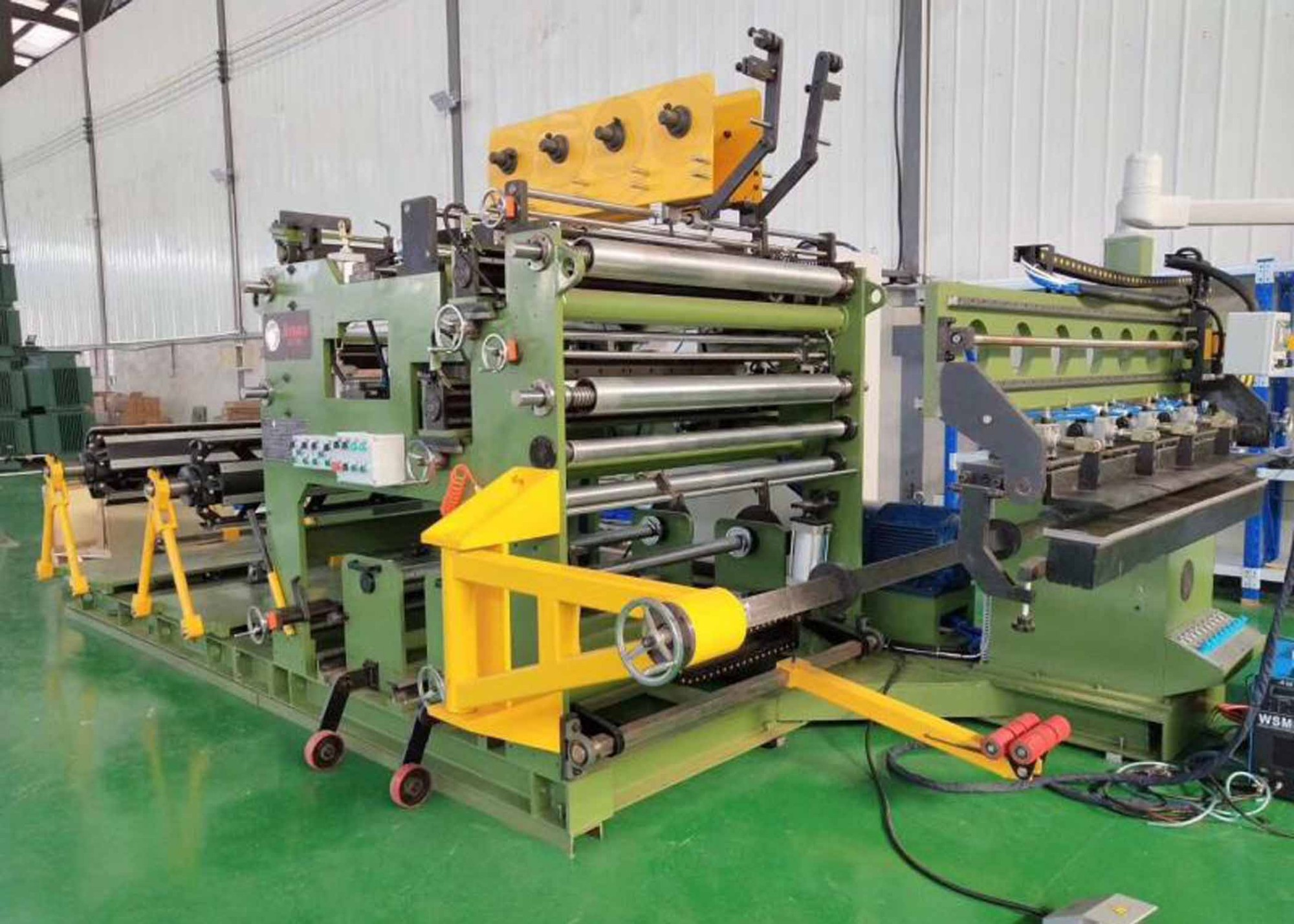 LV Fully Automatic Automatic Foil Winding Machine