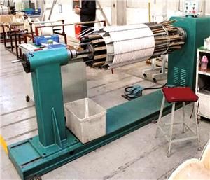 Automatic Horizontal Coil Winding Machine