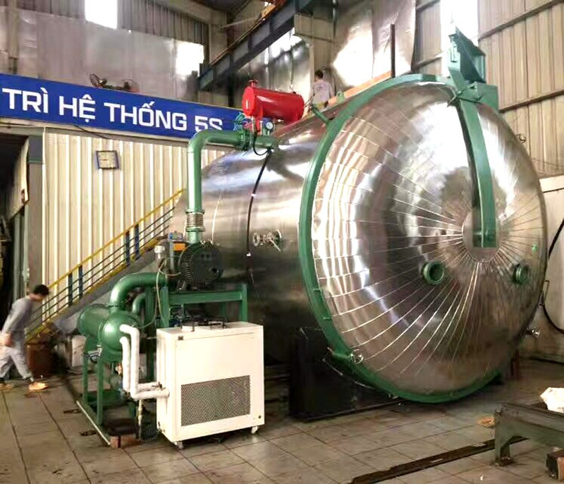 Variable Pressure Vacuum Drying Machine For Transformer