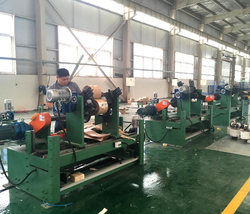 Three-Dimensional Coil Iron Winding Machine