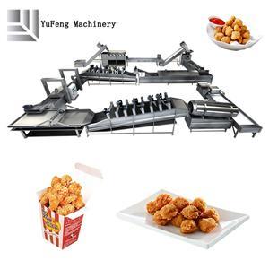 Linea di produzione di frittura