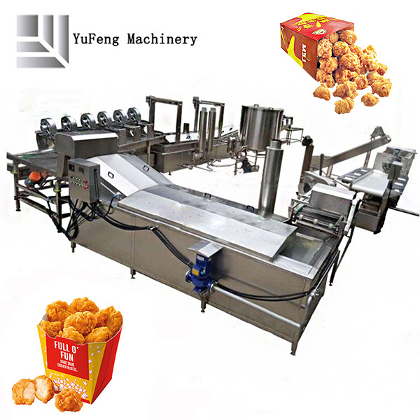 frying machine/frying line/frying production line
