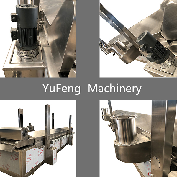 seafood frying machine
