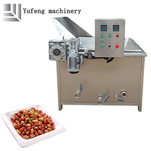 Fully Automatic Continuous Peanut Frying Machine