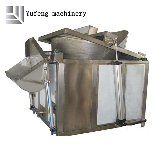 Fish frying production line