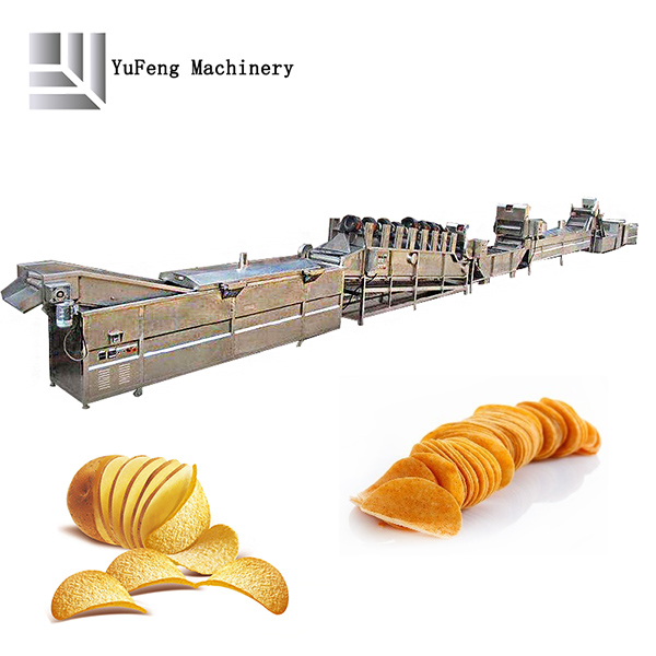industrial fully automatic chips fryer