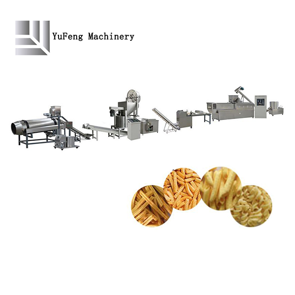 Fried chips production line