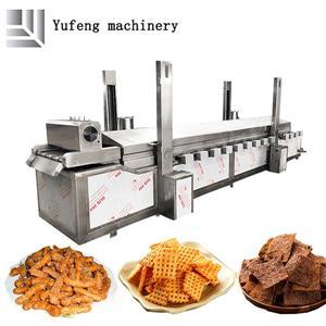 Linea di produzione per friggere snack completamente automatica