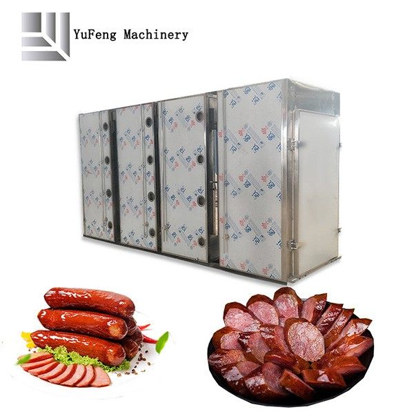 Industrial Large Sausages Smoked Furnace