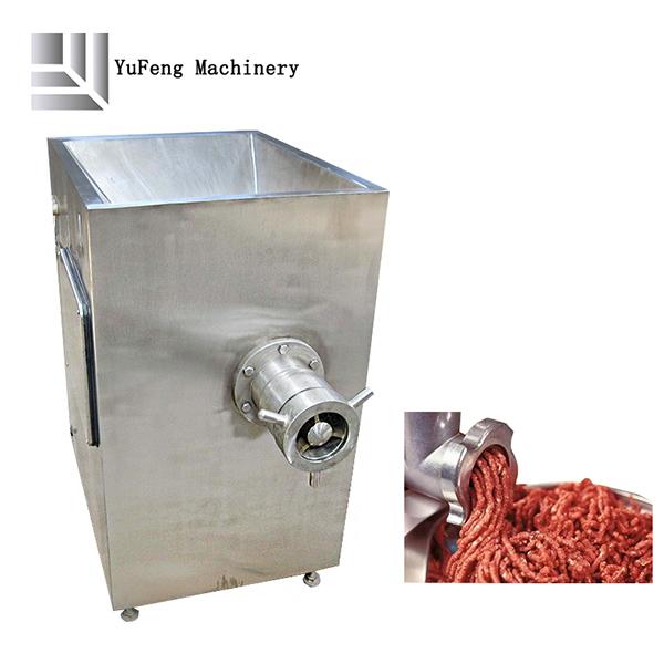 Commercial frozen meat grinder