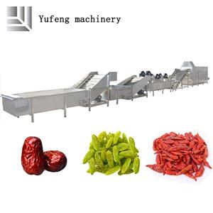 Large Automatic Fruit And Vegetable Air-drying Production Line