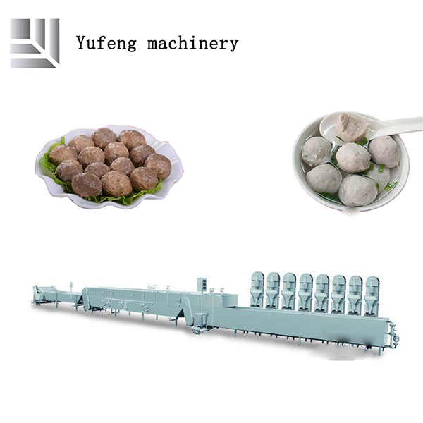 large meatballs making machine