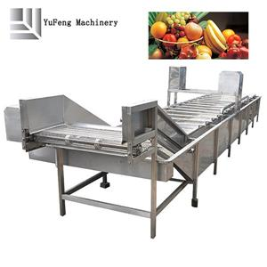 Fully Automatic Stainless Steel Fruits Washing Machine