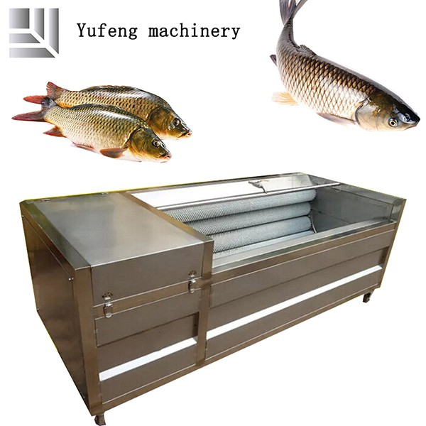 Fully Automatic Stainless Steel Seafood Cleaning Machine