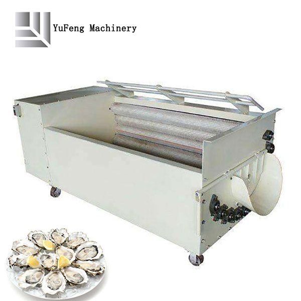 Sea food cleaning machine