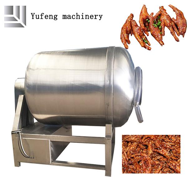 Chicken meat tumbling machine