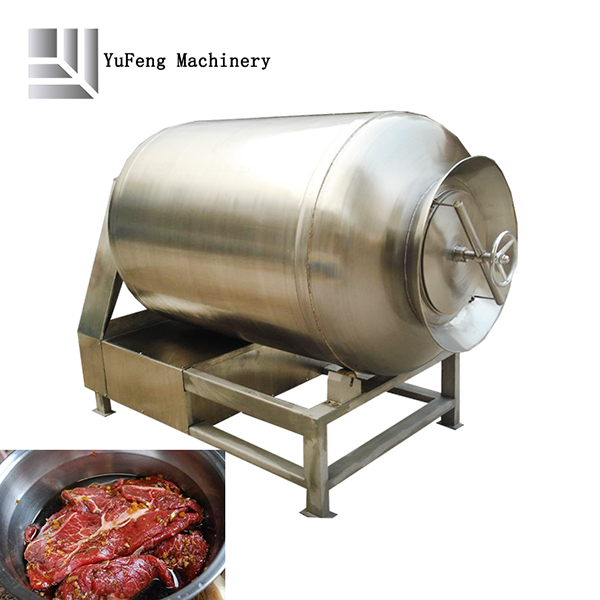 Industrial meat tumbler