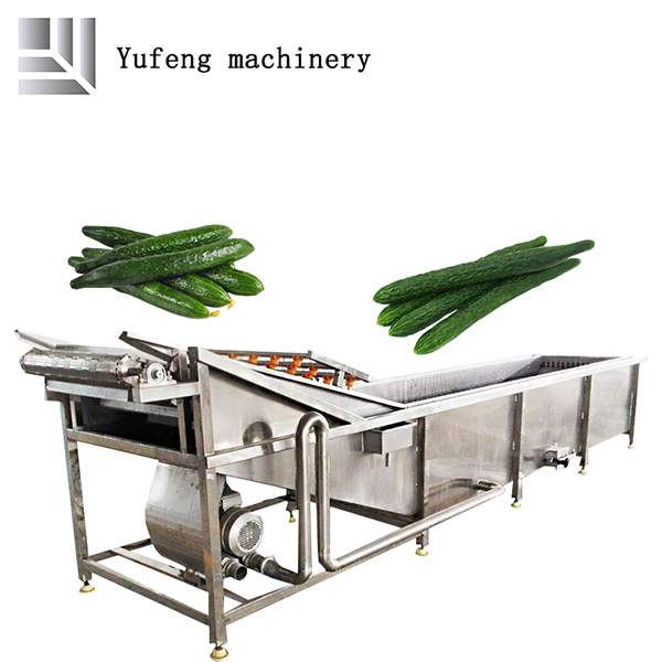 fruits and vegetables cleaning machine