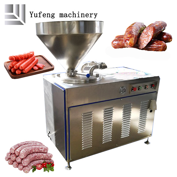 sausage processing line