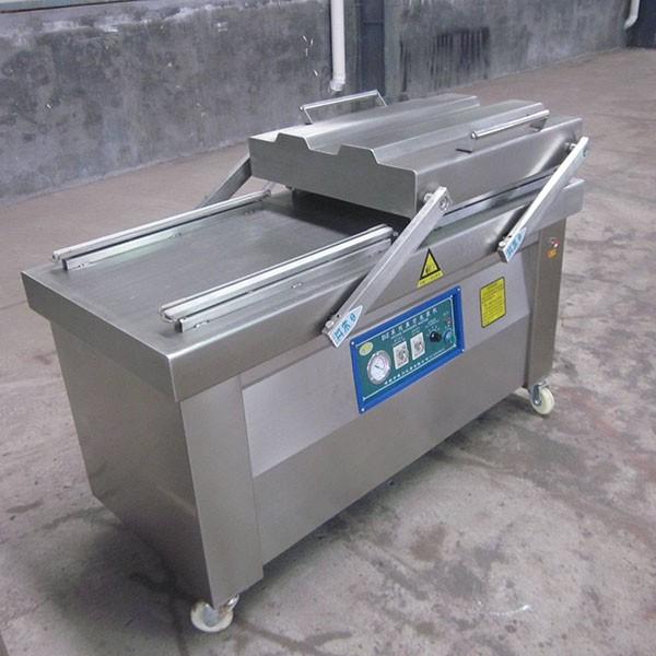 डबल चैंबर वैक्यूम पैकेजिंग मशीन, मॉडल नं .: एमपीएस-DZ-410