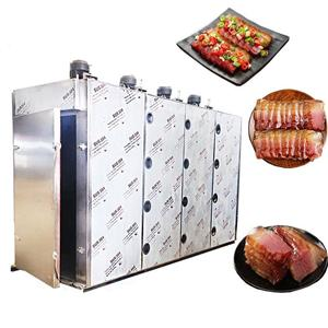 Dried beancurd fumatory machinery/ tofu smoking furnace/ smoked dry fish machine