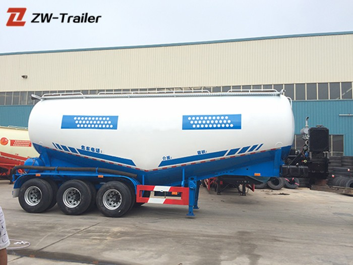 Cement Bulker Powder Tanker Trailer