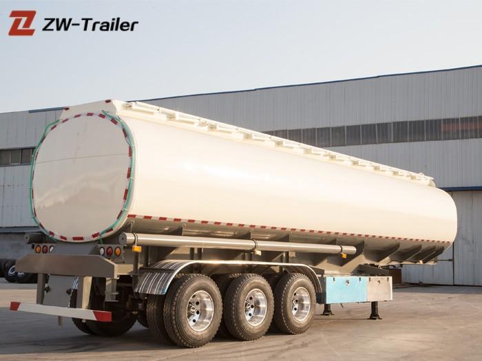 Oil Fuel Storage Vacuum Tanker Trailer