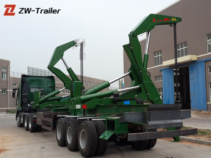 20ft 40 Foot Container Self Loadingtruck