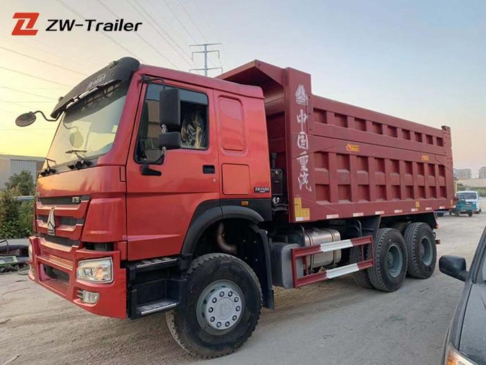sinotruk used 371hp 420hp dump truck