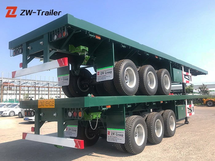 Shipping Container Flatbed Trailer Dimensions