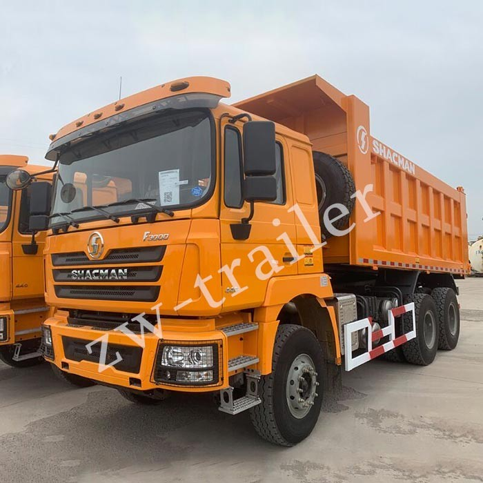 Shacman tippe truck received good comments