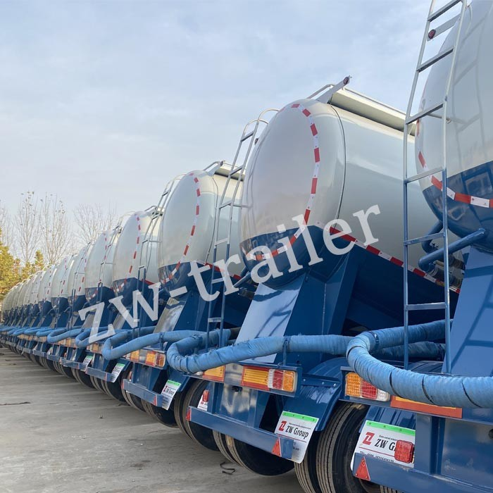 20 sets Cement Bulker Trailers Export to Africa