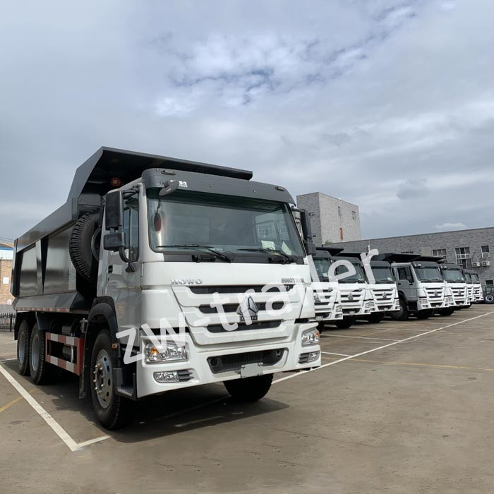 U Shape Dump truck has attracted buyer attention
