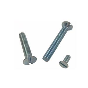 DIN963 Machine Screws Zinc Plated Factory