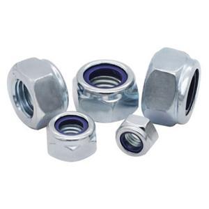 DIN985 Hex Thin Nuts Class 4.8 Zinc Manufacture