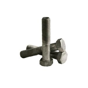 ASTM A307A Hex Bolts Black Hot Dip Galvanized