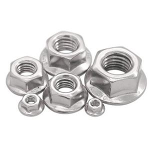 DIN6923 Flange Nuts Stainless Steel A2 A4 304 316