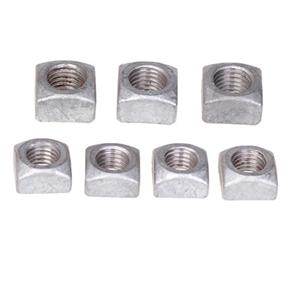 Discount DIN557 Square Nuts Plain Zinc Plated