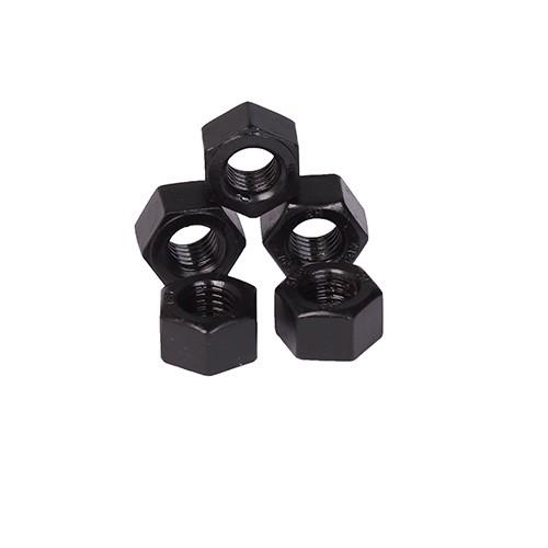 Hex Nuts DIN934 Class 6 8 10 Plain Black Zinc