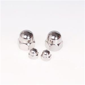 DIN1587 Hex Domed Cap Nuts Stainless Steel A2 A4 304 316