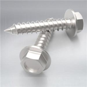 Hex Washer Head Metal Screw Stainless Steel 304 316