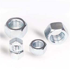 Hex Nuts AS1112 Class 8 10 Plain Zinc Plated