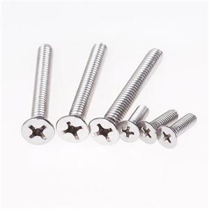 DIN965 Machine Screws Stainless Steel A2 A4